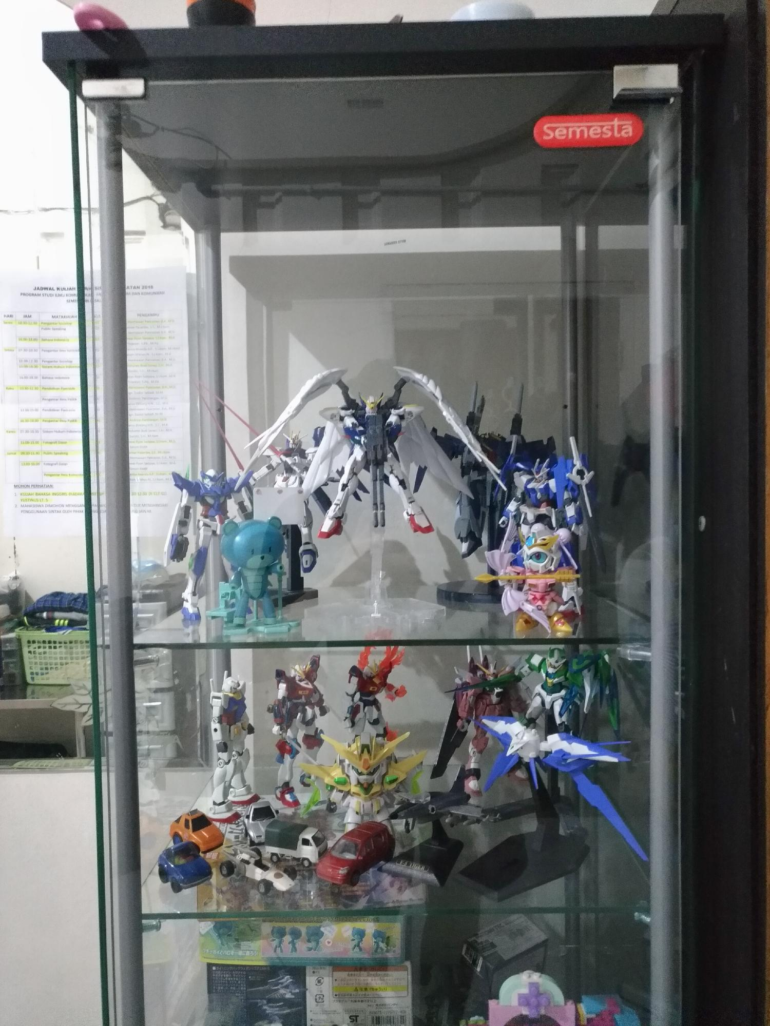 Gunpla collections