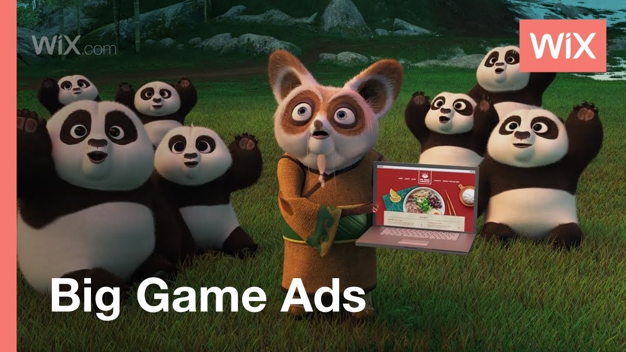 Kung Fu Panda's Po Discovers the Power of Wix | Wix.com #StartStunning 2016 Big Game Campaign