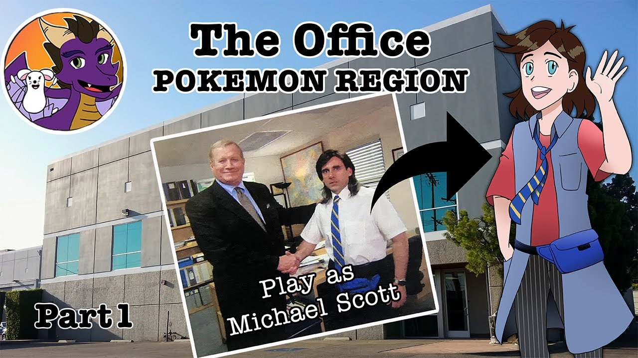 Dunder Mifflin as a Pokemon Region!! || The Office Pokemon Mashup Part 1