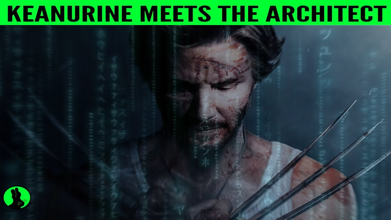 KEANURINE Meets the Architect | Keanu Reeves & WIll Ferrell Matrix Reloaded Parody