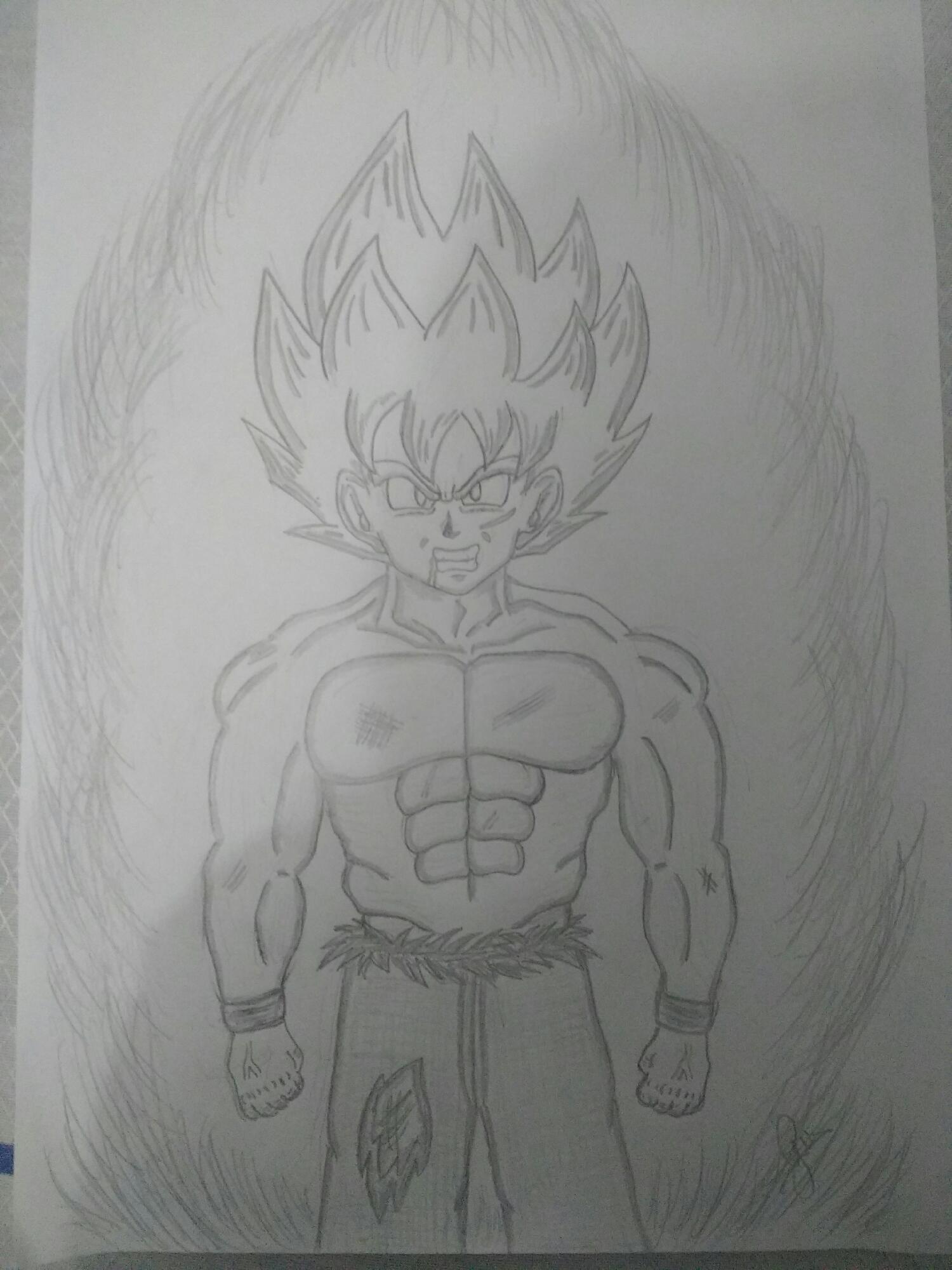 Goku SSJ Nervoso
