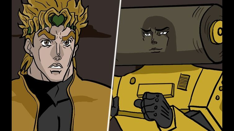 DIO's Road Roller breaks up with him