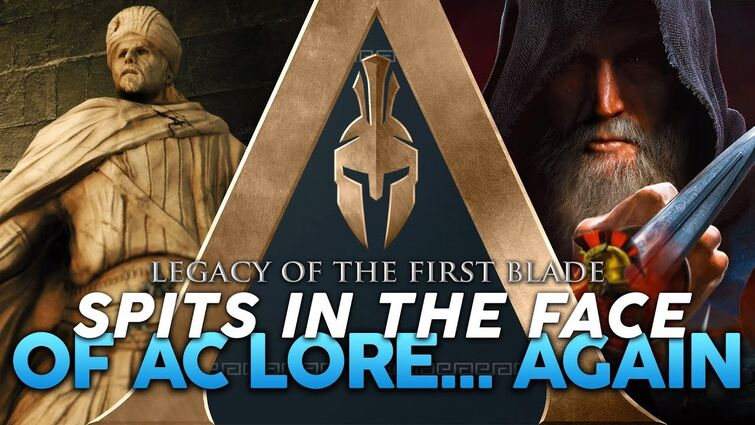 Legacy of the First Blade Spits in the Face of Assassin's Creed Lore... Once Again