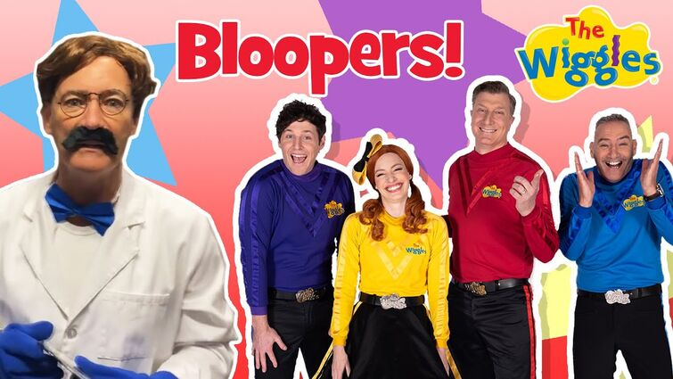 The Wiggles: Ready, Steady, Wiggly Bloopers! #LesleysBack
