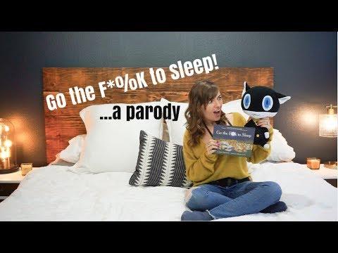 Morgana Reads Go The F*CK to Sleep! | Persona 5 Parody