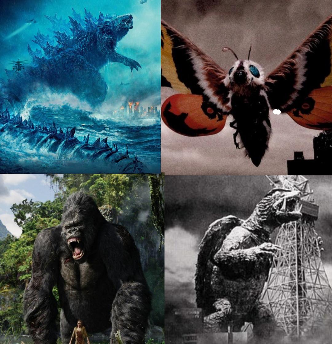 Die Top 4 der beliebtesten Kaiju's