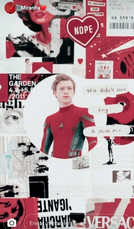 Hi iam Peter Parker 🖤🕷❤