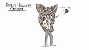 Khiem's halloween costume