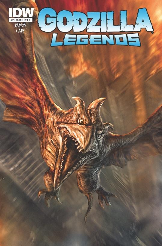 Cómic de Godzilla