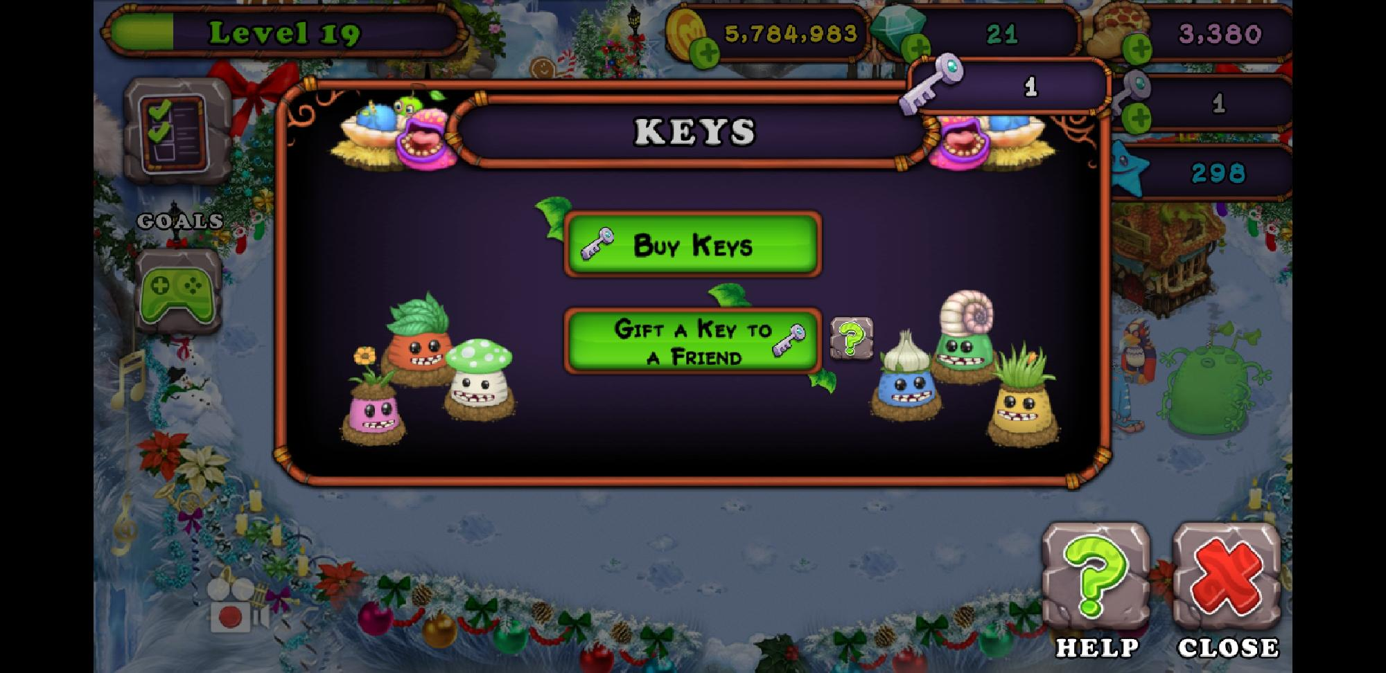Could someone give me a key? Ill give 1 back.