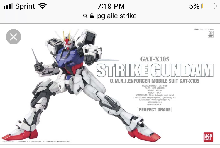 About to get first PG, what should I get red astray or strike.???