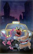 Aaahh!!! Real Monsters concept art