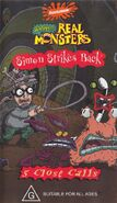 AAAHH!!! Real Monsters Simon Strikes Back VHS