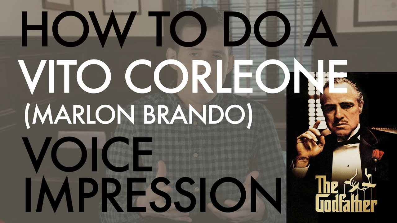 """How To Do A Vito Corleone (Marlon Brando) Voice Impression"" - Voice Breakdown Ep. 12"