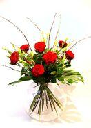 Rotes Rosenglück