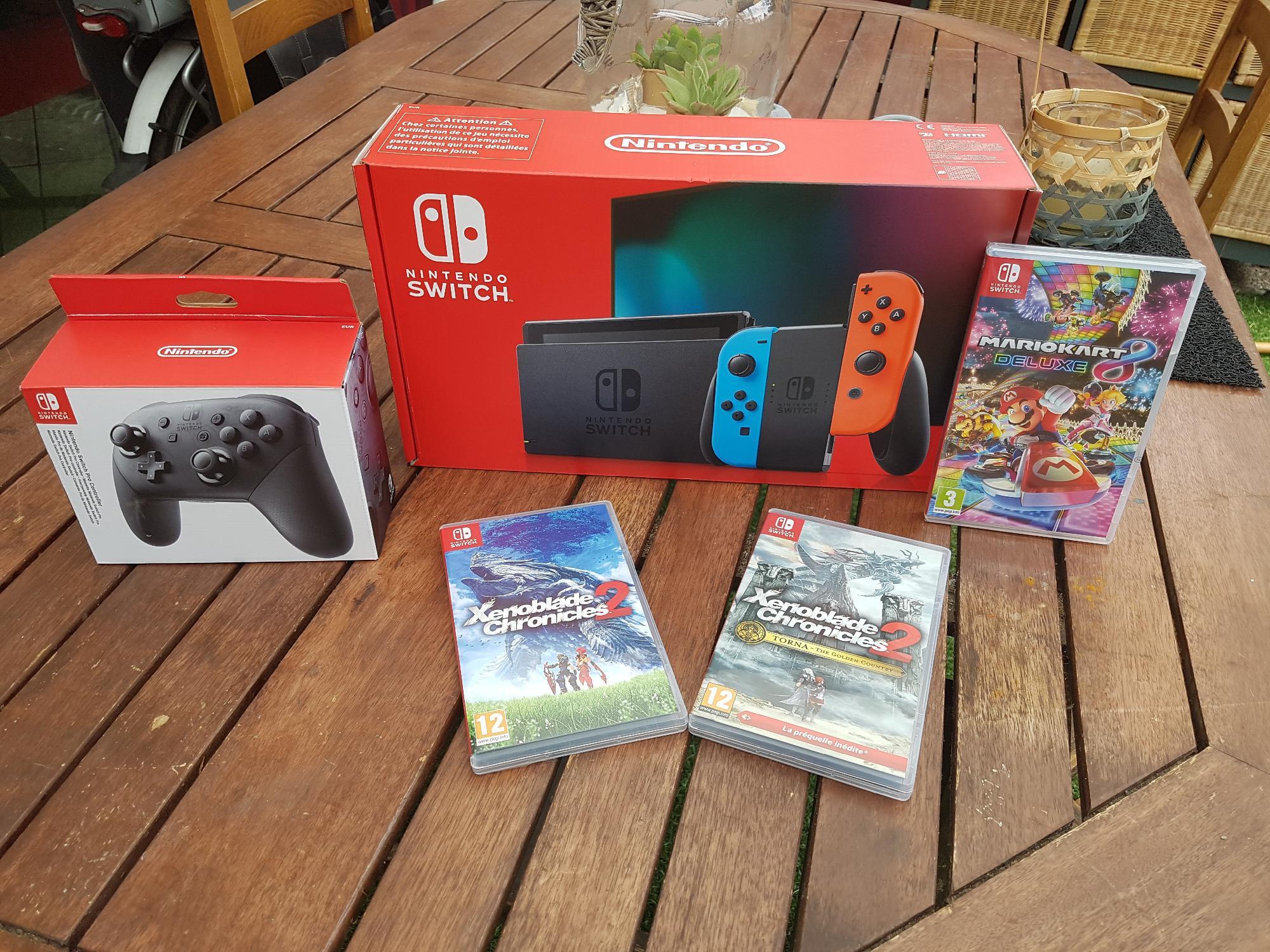 J'ai la Nintendo Switch !