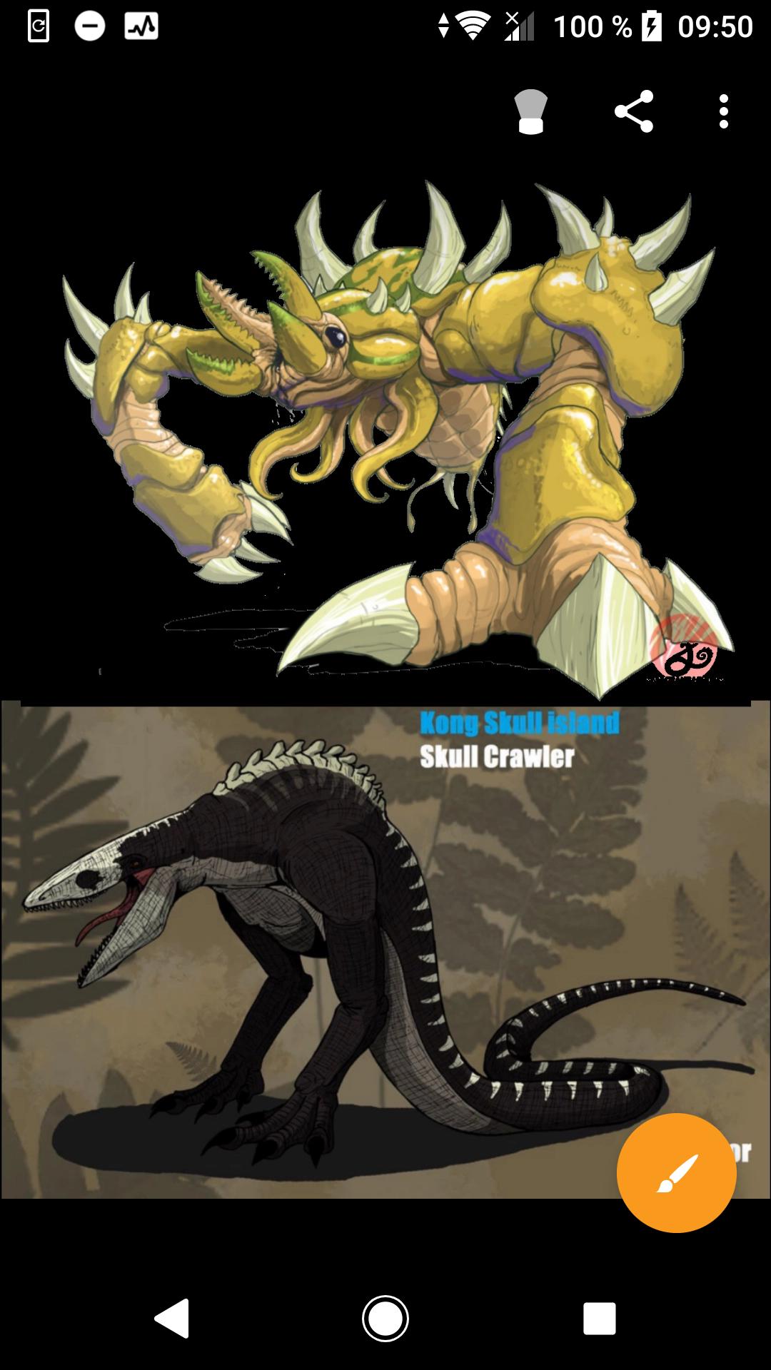 Crustaceous rex vs Skull crawler