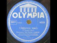 Harmonie De Oude Garde – Carnaval Wals 1955 Aalst