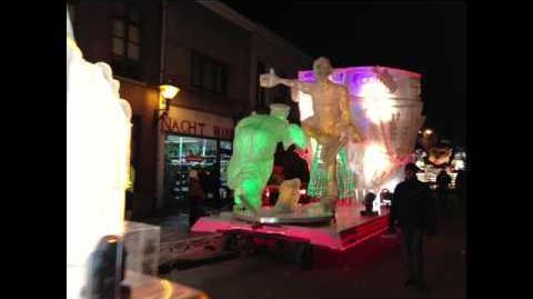 Aalst Carnaval - De Sjattrellen- Ze loten eer licht op ons schoinen