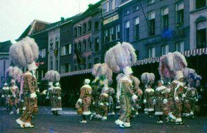 De ware Gilles van Aalst 1960 onder het voorzitterschap van Gust de Man..jpg