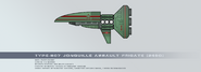 Type 807 jonquille assault frigate by rvbomally-d9gi33f