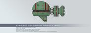 Type 501 colchique frigate by rvbomally-d9guk0o