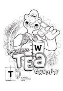 Smashing Tea Gromit! Colouring