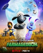 Farmageddon A Shaun the Sheep Movie Netflix Poster