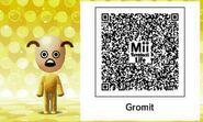 Tomodachi Gromit QR