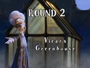 Wallace & Gromit The Curse of the Were-Rabbit Anti-Pesto S.W.A.T. Team Game Round 2 Vicar's Greenhouse Screen