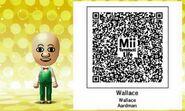 Wallace Aardman Mii Tomodachi Life QR