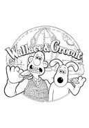 Wallace & Gromit Colouring