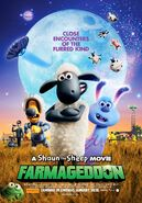 Farmageddon A Shaun the Sheep Movie Australian Poster