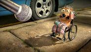 Discomfort hedgehog