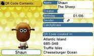 Shaun The Sheep QR Code Contents Tomodachi