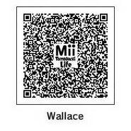 Mii Tomodachi Life Wallace QR