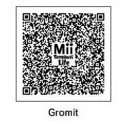 Gromit Tomodachi QR