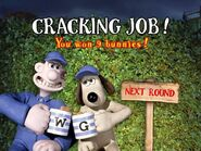 Wallace & Gromit The Curse of the Were-Rabbit Anti-Pesto S.W.A.T. Team Game Round 1 The Mulches Complete Screen