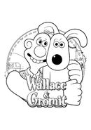 Wallace&Gromit Colouring