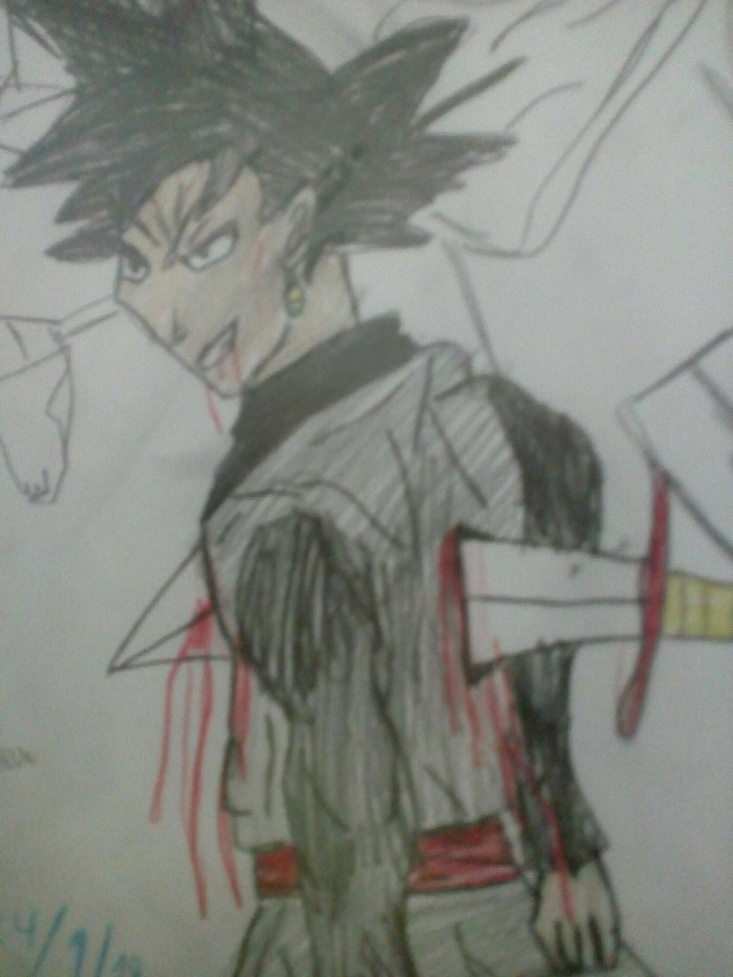 Goku Black eu fiz que nota vcs dão 0 a 10