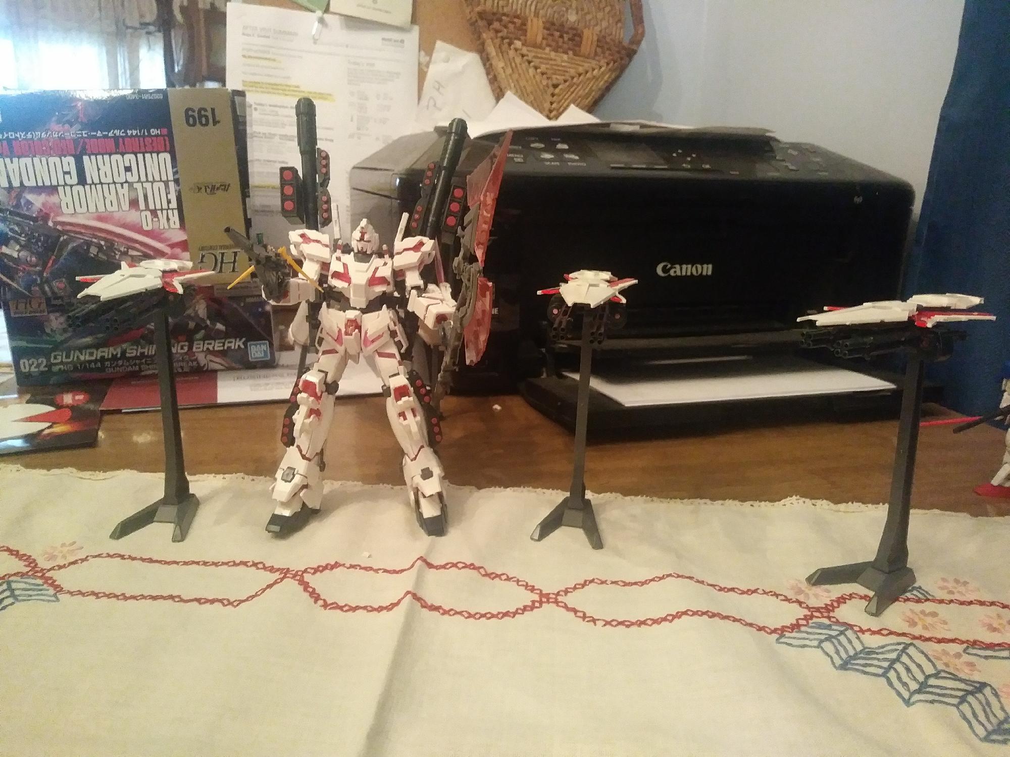 Finished my Full armor unicorn
