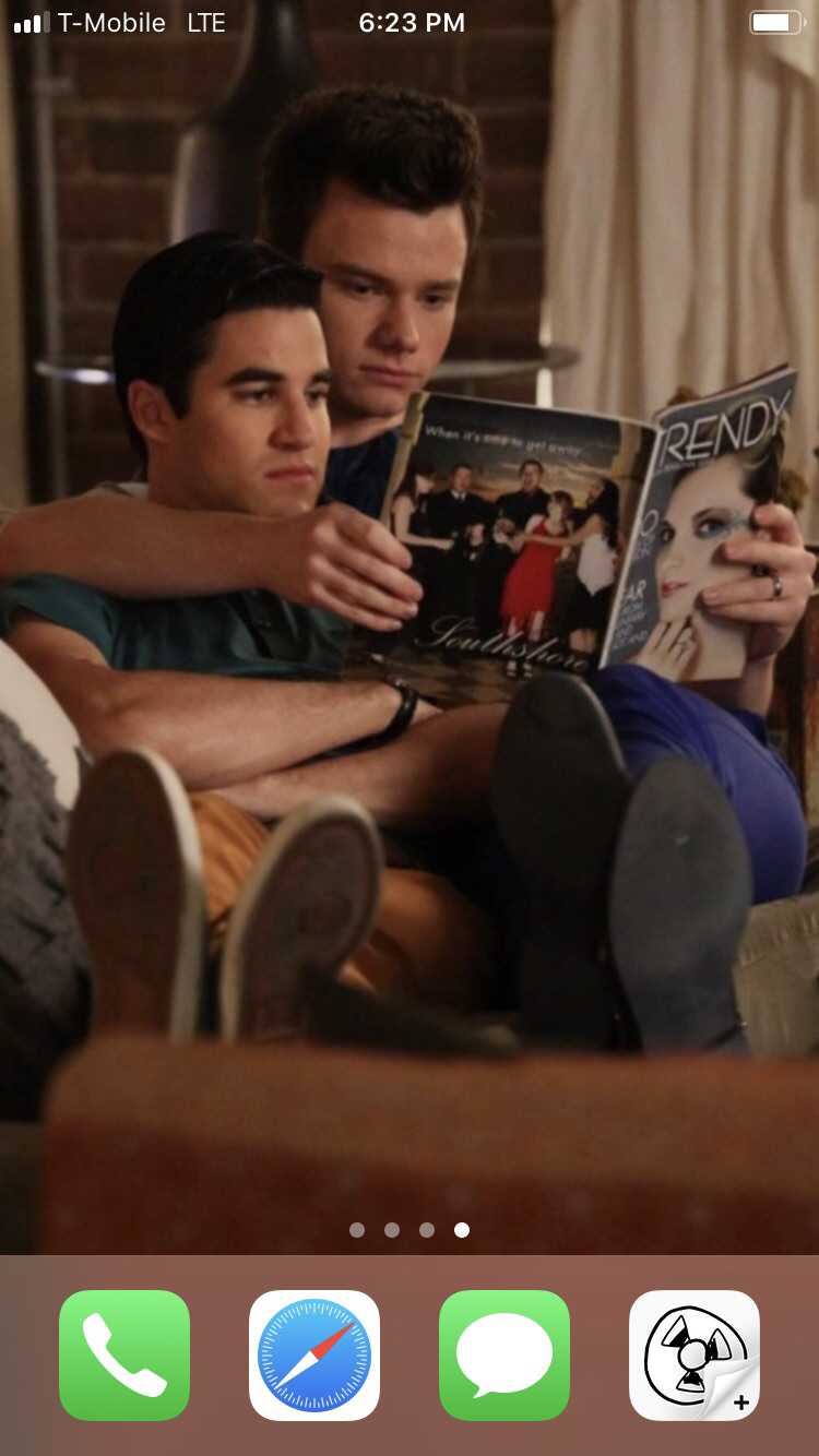 Finchle or klaine MINE IS KLAINE OBVIOUSLY