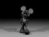 Photo-Negative Happy Mouse