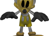 Golden Photo-Negative Mickey