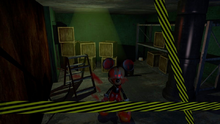 Killer Mouse (A.K.A Kevin Micher) In The Storage Room