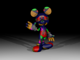 Glitched Mouse