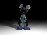 Lamented Photo-Negative Mickey