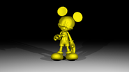Gold Mickeypng