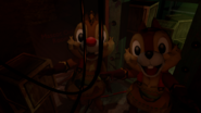 Chip and Dale Staff area
