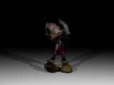 Withered Mickey